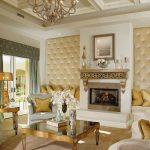 altın detaylı ev dekorasyon örnekleri