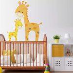 bebek odası duvar dekorasyonu