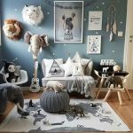 çocuk odası minderleri