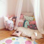 dekoratif çocuk odası minderleri