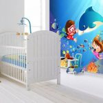 deniz temalı çocuk odası duvar kağıdı 2018