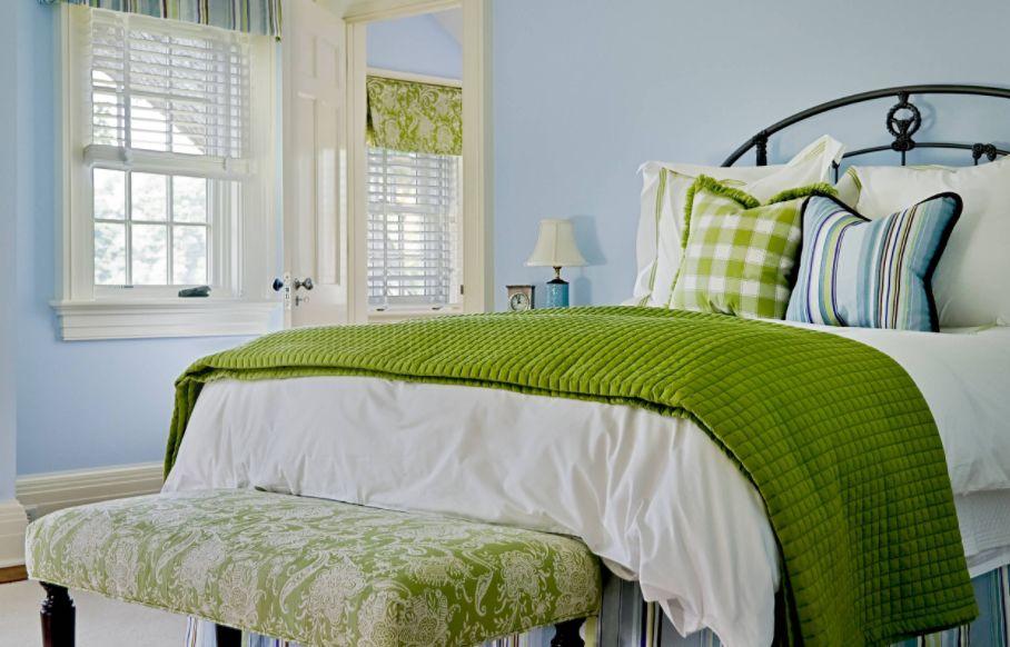 desenli yatak ucu banklar