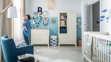 erkek bebek odası dekorasyon modeli 2018