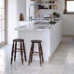 gri mutfak zemin fayansı