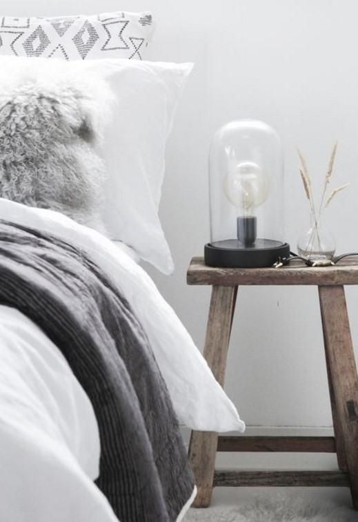 iskandinav stili yatak odası dekoru 2018