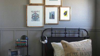 misafir yatak odası dekorasyonu 2018