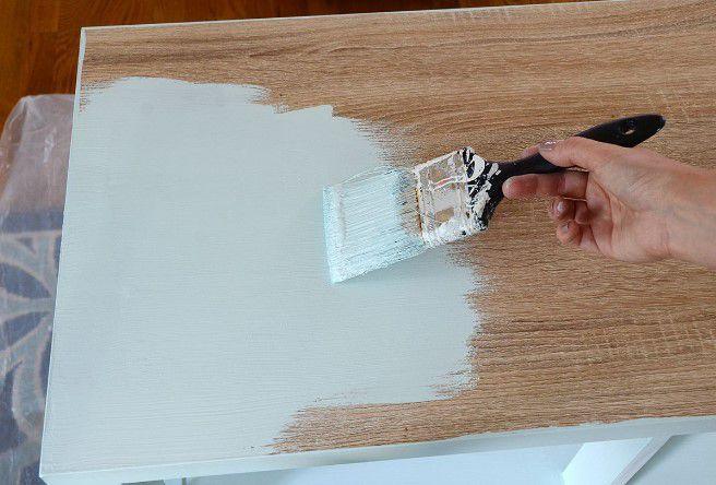 mobilya evde nasıl boyanır