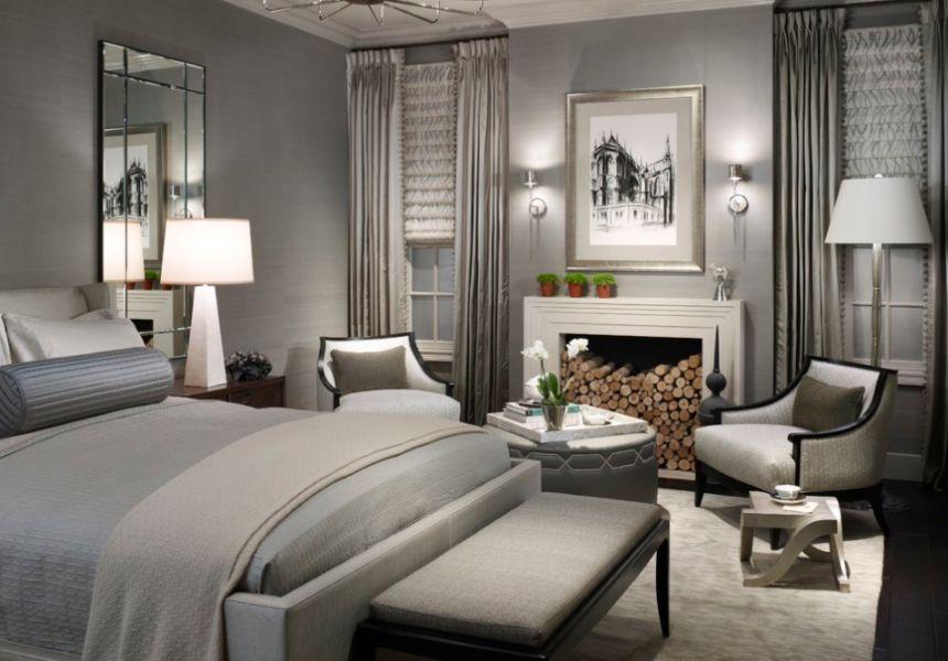 modern yatak odası dekorasyonu 2018