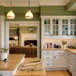 mutfak boyaları 2018 - yeşil