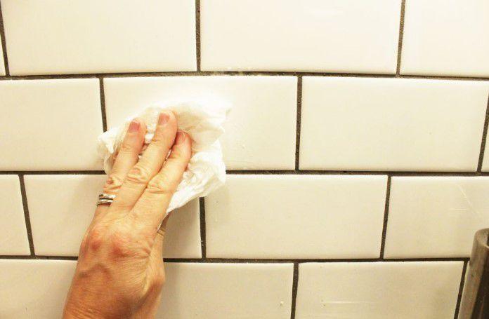 mutfak fayanslarının kolay temizliği