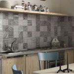 Patchwork fayans modern mutfak dekorasyonu