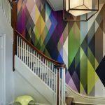 renkli ve modern duvar kağıtları 2018