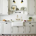 retro mutfak zemin fayansı