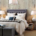 rustik tarz yatak odası dekorasyonu