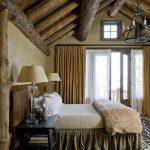 rustik tarz yatak odası için gerekli malzemeler