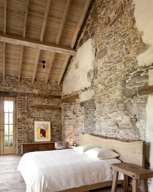 rustik yatak odası dekorasyon örnekleri