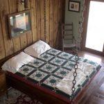 rustik yatak odası dekoru