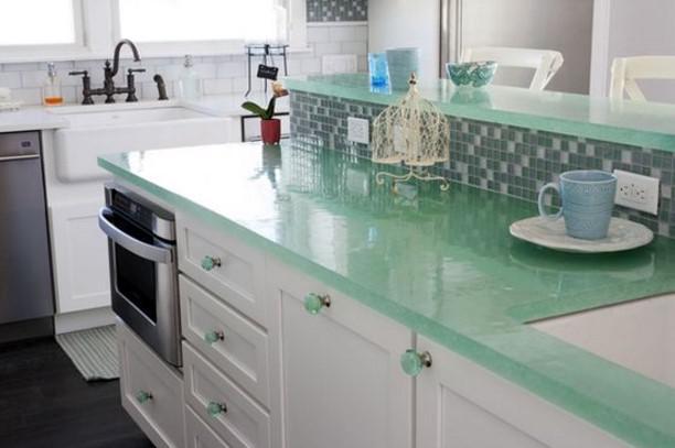 Mutfak Tezgahı turkuaz mutfak tezgahı | ev dekorasyonu
