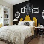 yatak odasi kara tahta dekorasyonu 2018