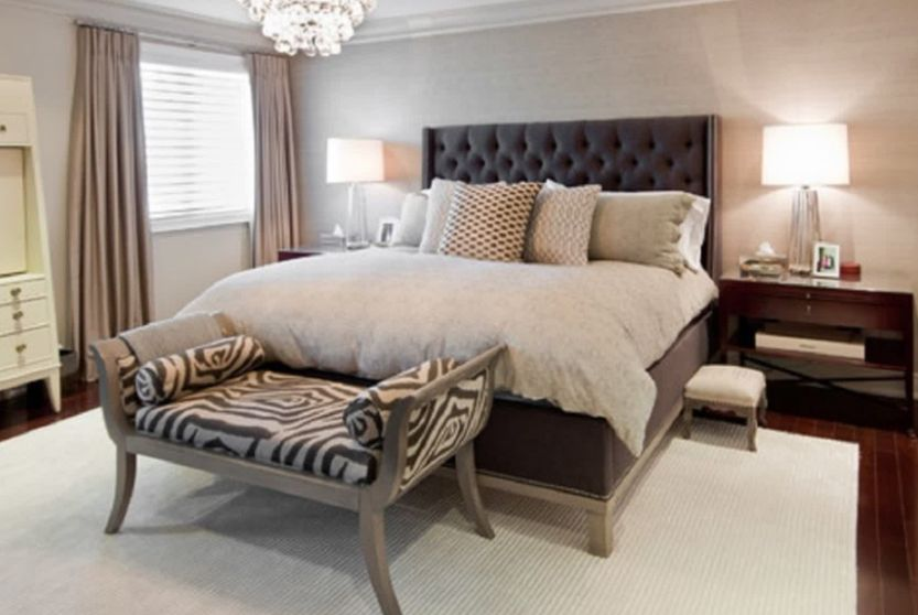 zebra desenli yatak ucu bank