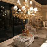 barok tarzı mobilyalar ile salon