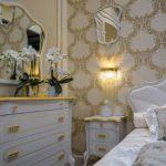 barok tarzı yatak odası mobilyaları
