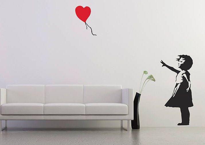 duvar sticker dekorasyon örnekleri