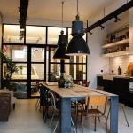 endüstriyel mutfak dekorasyonu