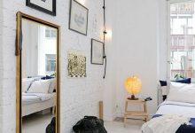 iskandinav ev dekorasyonunda odalar