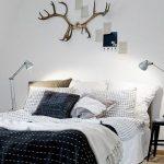 iskandinav stili yatak odası 2018
