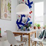 skandinav stili yemek odası