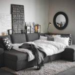 iskandinav tarzı gri oturma odası