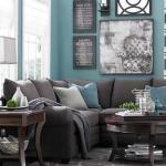mavi salon dekorasyon fikirleri 2018