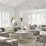 modern gri oturma odası dekorasyonu