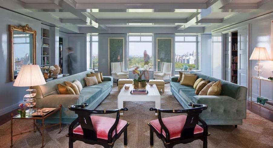 2018 Modern Salon Dekorasyonu Ev Dekorasyonu
