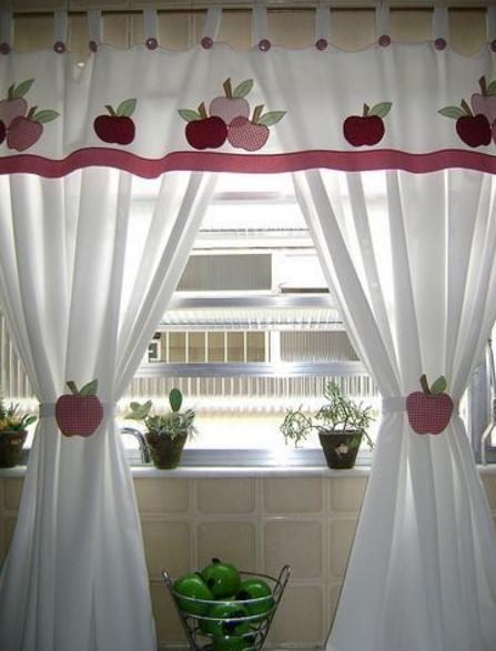 Mutfak perdesi i in nak rnekleri 2019 ev dekorasyonu - Modelos cortinas para cocina ...