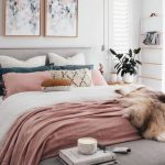 pudra rengi yatak odası dekoru