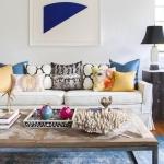 sonbahar ev dekorasyon fikirleri mavi 2018