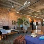 tuğla duvarlar ile endüstriyel iç mekanlar 2019