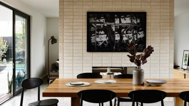 yemek odası masa karşısı duvar resimleri