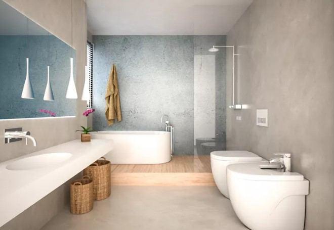2018 banyo dekorasyonu
