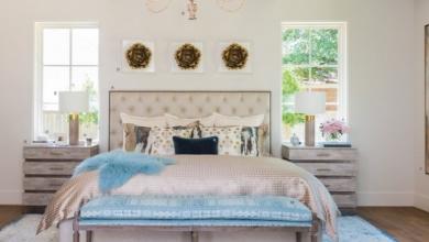 açık renk yatak odaları 2018
