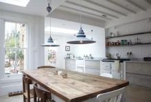 ahşap ve beyaz mutfaklar 2018