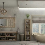banyo dekorasyon modelleri 2018 9