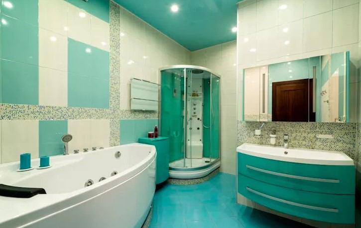 banyo tavan dekorasyonu 2018