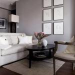 bej koltuklar ile salon dekorasyonları