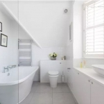 beyaz banyo dekorasyonu 2018