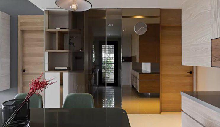 cam panelli sürgülü kapılar