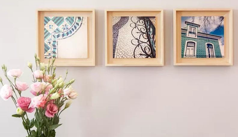 çerçeveli resimler ile duvar dekorasyonları 2019