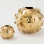 dekoratif dore vazo
